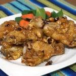 Dak Kang Jung (Korean Sweet and Spicy Chicken Wings)