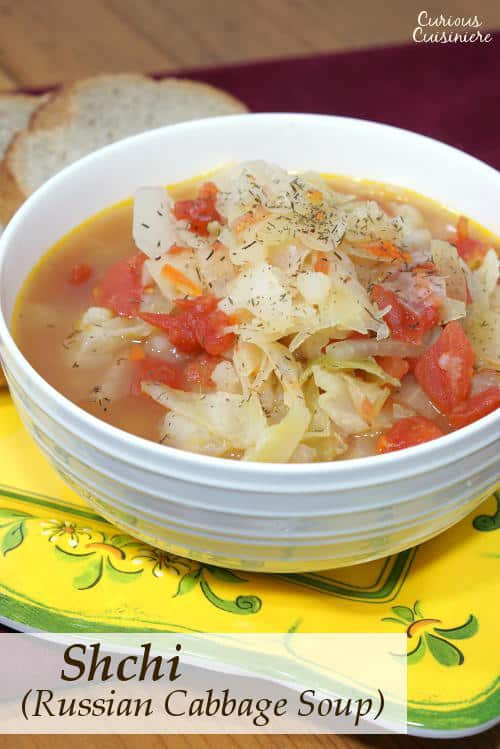 Shchi (Russian Cabbage Soup) • Curious Cuisiniere