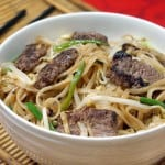 Beef Chow Fun (Cantonese Beef Noodle Stir Fry)