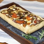 Rustic Winter Vegetable Tarte Provencale #FreshTastyValentines
