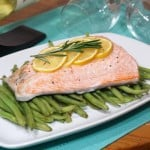 Lemon and Rosemary Salmon en Papillote