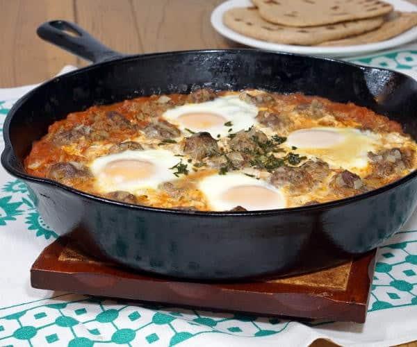 Kefta Mkaouara (Moroccan Meatball Tagine) #SundaySupper