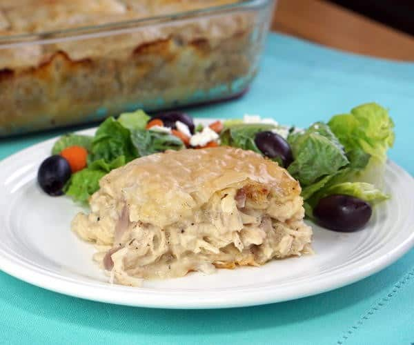 Kotopita (Greek Chicken Pie)