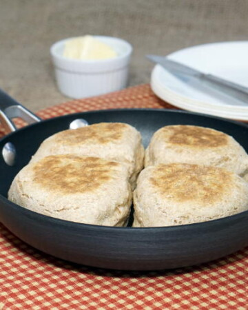 Skillet, North Ireland's Farl are quick and easy skillet Soda Bread quarters, the perfect recipe for when you need fast, hearty bread to go with dinner. | www.CuriousCuisiniere.com