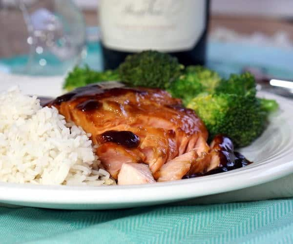 Teriyaki Salmon and Pinot Noir Wine Pairing