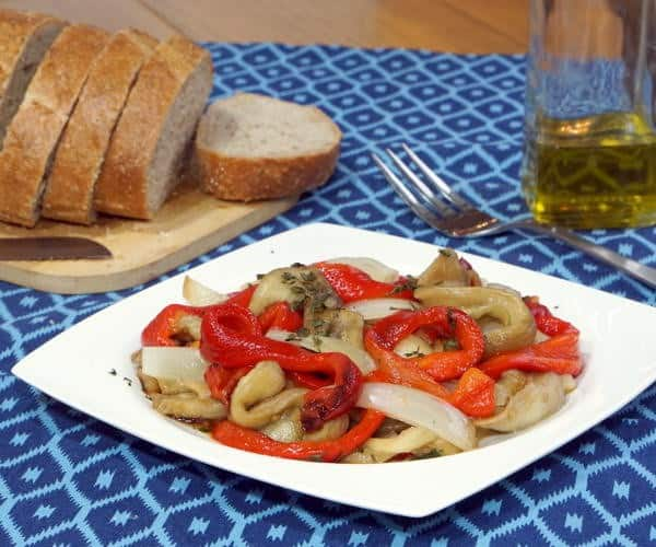 Escalivada (Spanish Grilled Vegetables) and South Rhône Rosé Wine Pairing