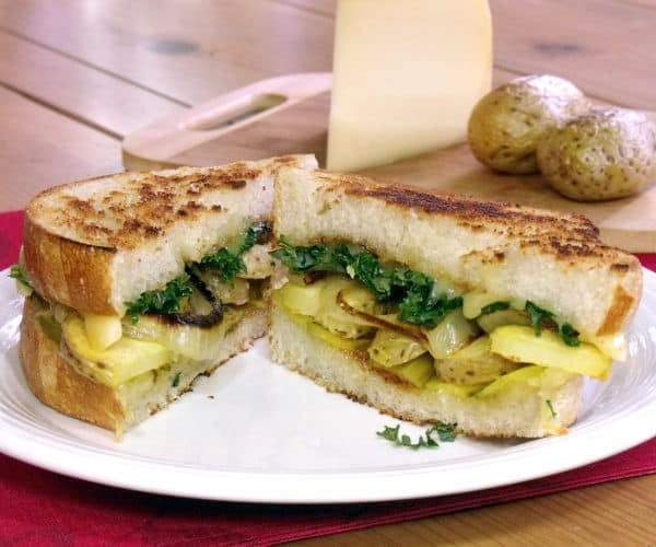 Grilled Raclette Cheese Sandwich