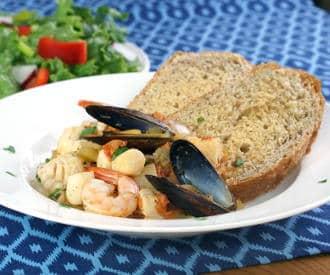 Cacciucco (Tuscan Seafood Stew)