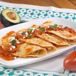Chicken and Cheese Entomatadas (Tomato Enchiladas)