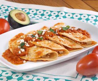 Chicken and Cheese Entomatadas (Tomato Enchiladas) and Wine Pairing