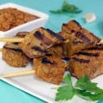 Pinchos Morunos (Spanish Pork Skewers) with Mojo Picon