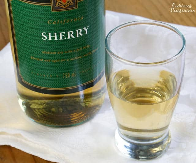 What is Sherry? How do you use it? When do you drink it? We tackle all the big questions! | www.CuriousCuisiniere.com