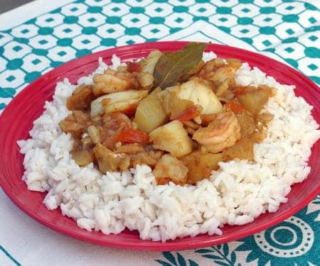 Cape Malay Seafood Curry
