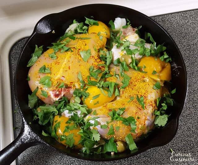 Djaj Mqualli (Moroccan Preserved Lemon Chicken Tagine ...