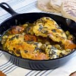 Djaj Mqualli (Moroccan Preserved Lemon Chicken Tagine)