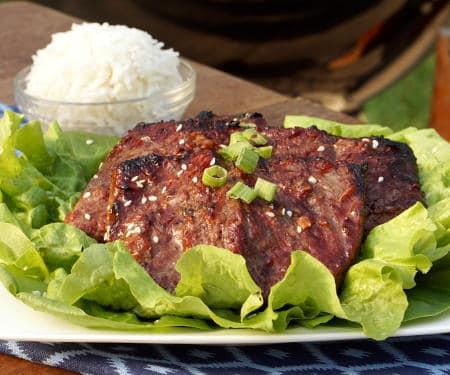 Galbi (Korean BBQ Short Ribs)