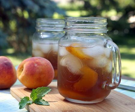 Trà Dào (Vietnamese Peach Tea) #SundaySupper