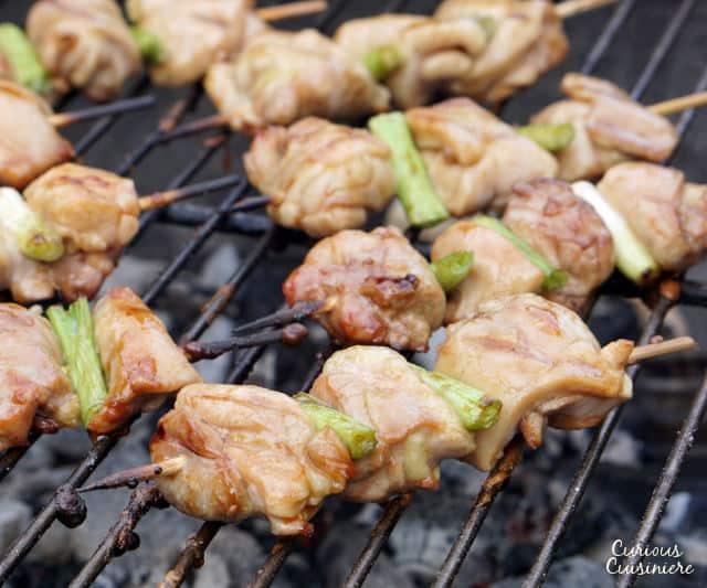 how to make yakitori chicken