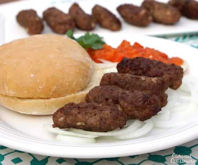 Bosnian Finger Sausages (Cevapi) Recipe — Dishmaps