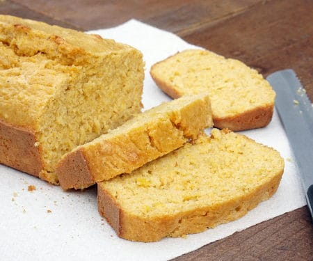Mealie Bread (South African Sweetcorn Bread)