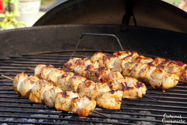 Shish Tawook Lebanese Chicken Skewers Curious Cuisiniere
