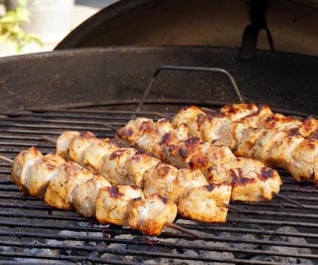 Shish Tawook (Lebanese Chicken Skewers)