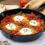 Chakchouka (Tunisian Eggs in Tomato Sauce)