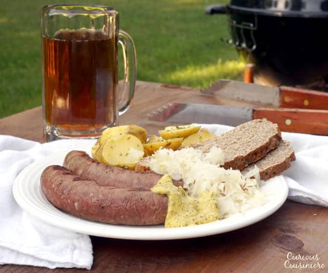 Homemade Bratwurst • Curious Cuisiniere