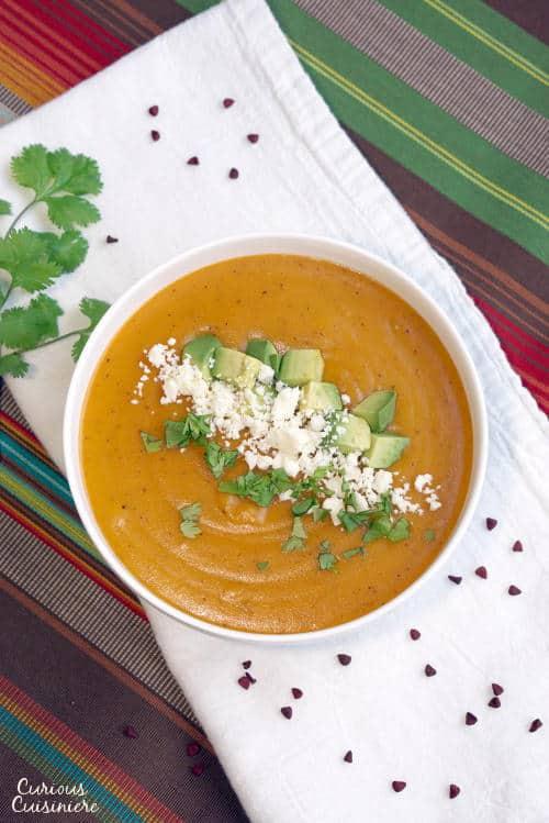 Locro de Papa is a Cheesy Ecuadorian potato soup that is the perfect ...