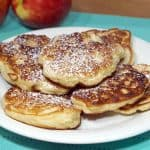 Racuchy z Jablkami (Polish Apple Pancakes)