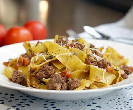Authentic Bolognese Sauce with Wine Pairing
