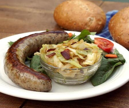 Kapusta (Polish Braised Cabbage)