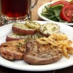 Schwenkbraten (Grilled German Pork Chops)