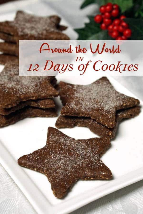 Travel with us Around the World in 12 Days of Cookies. It's the perfect way to celebrate Holiday Baking! | www.CuriousCuisiniere.com