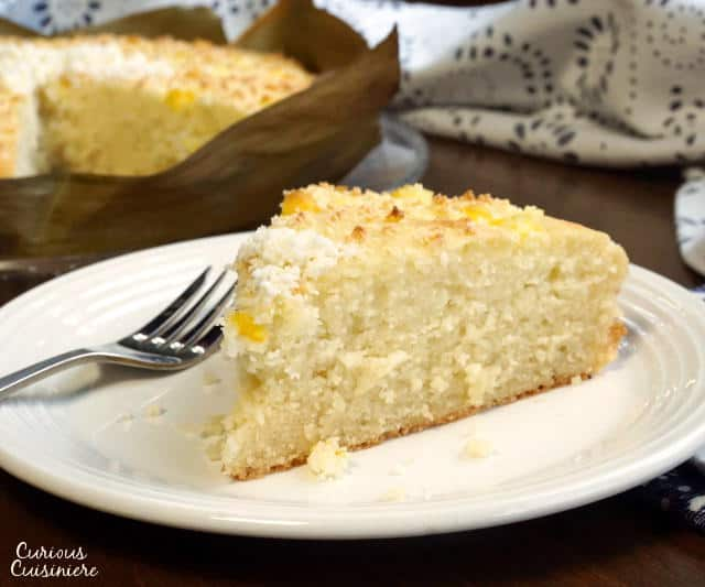 Bibingka Is A Sweet Coconut Milk Cake That Naturally Gluten Free This Fluffy Filipino