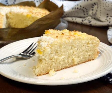 Bibingka (Filipino Coconut Milk Cake)