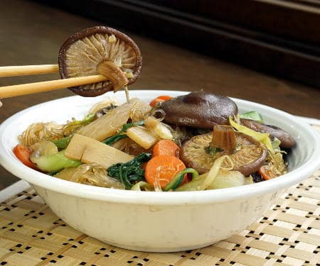 Buddhas delight curious cuisiniere buddhas delight is a healthy chinese dish that can be complicated to make but our print this recipe forumfinder