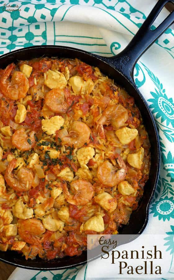 Paella and added our own tricks to make an incredibly Easy Paella ...