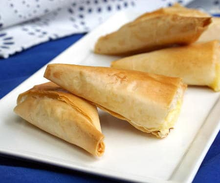 Tiropita (Greek Cheese Pies)
