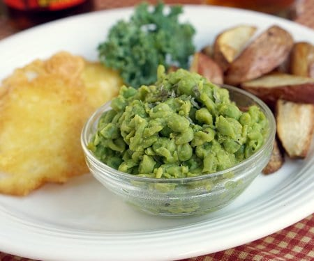 British Mushy Peas