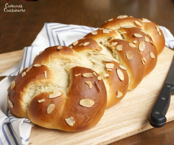 Pulla is a traditional Finnish sweet bread that is flavored with the unique scent of cardamom. It makes a stunning loaf, or can be baked into individual rolls for easy eating. | www.CuriousCuisiniere.com