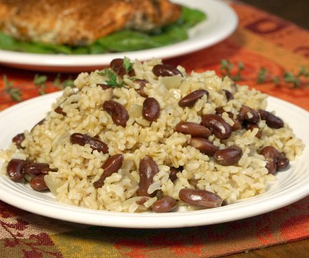 Jamaican Rice and Peas (Coconut Rice and Beans)