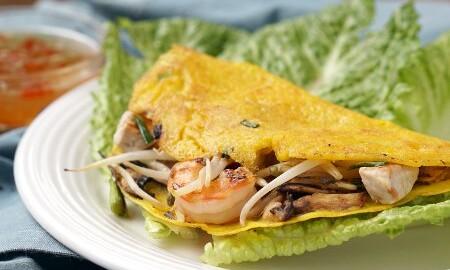 Bánh Xèo Vietnamese Crepes Curious Cuisiniere