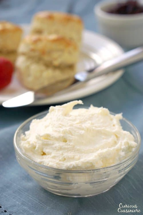 Homemade Clotted Cream Curious Cuisiniere