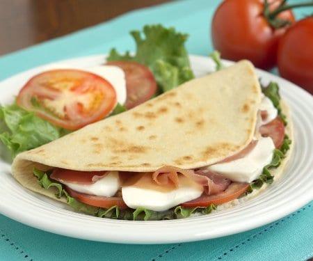 Piadina (Italian Flatbread Sandwiches)