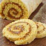 Brazo de Reina (Chilean Dulce de Leche Cake)