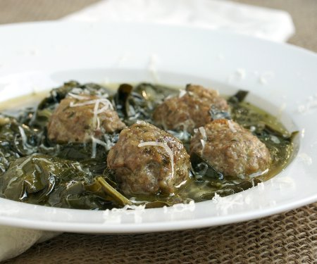 Minestra Maritata (Italian Wedding Soup)