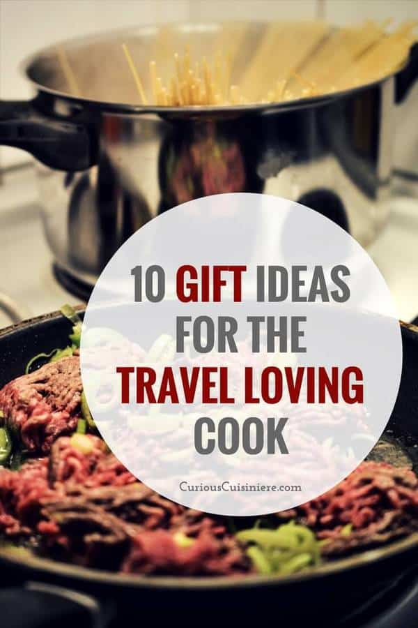 Our collection of unique cooking gifts from around the world is sure to give you the perfect gift ideas for cooks on your list who like to try new things in the kitchen! | www.CuriousCuisiniere.com