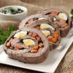 Matambre Arrollado (Argentinan Stuffed Flank Steak)