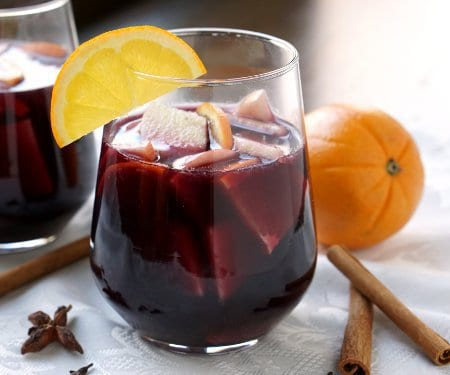 Spiced Winter Sangria